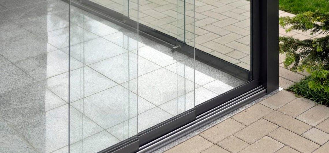 стеклянные сдвижные двери серии S16
