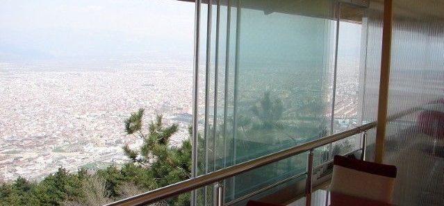 терраса с Panoram Glass линия SLIDING SLIM
