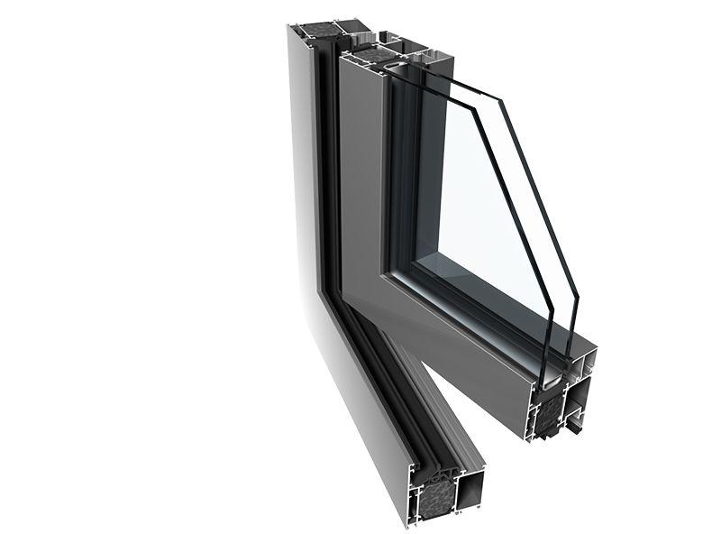 алюминиевый профиль окна PE 68 HI WINDOWS