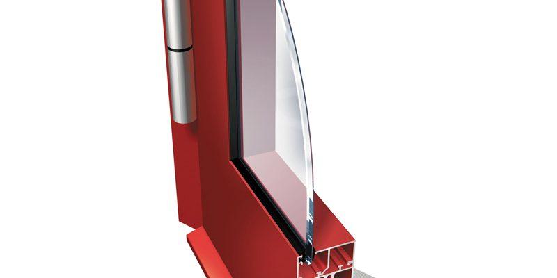 двери из алюминия серии PONZIO PT 50
