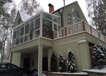 зимний сад в доме фото