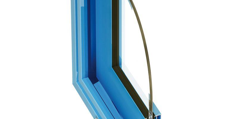 система для стеклянных перегородок в интерьере