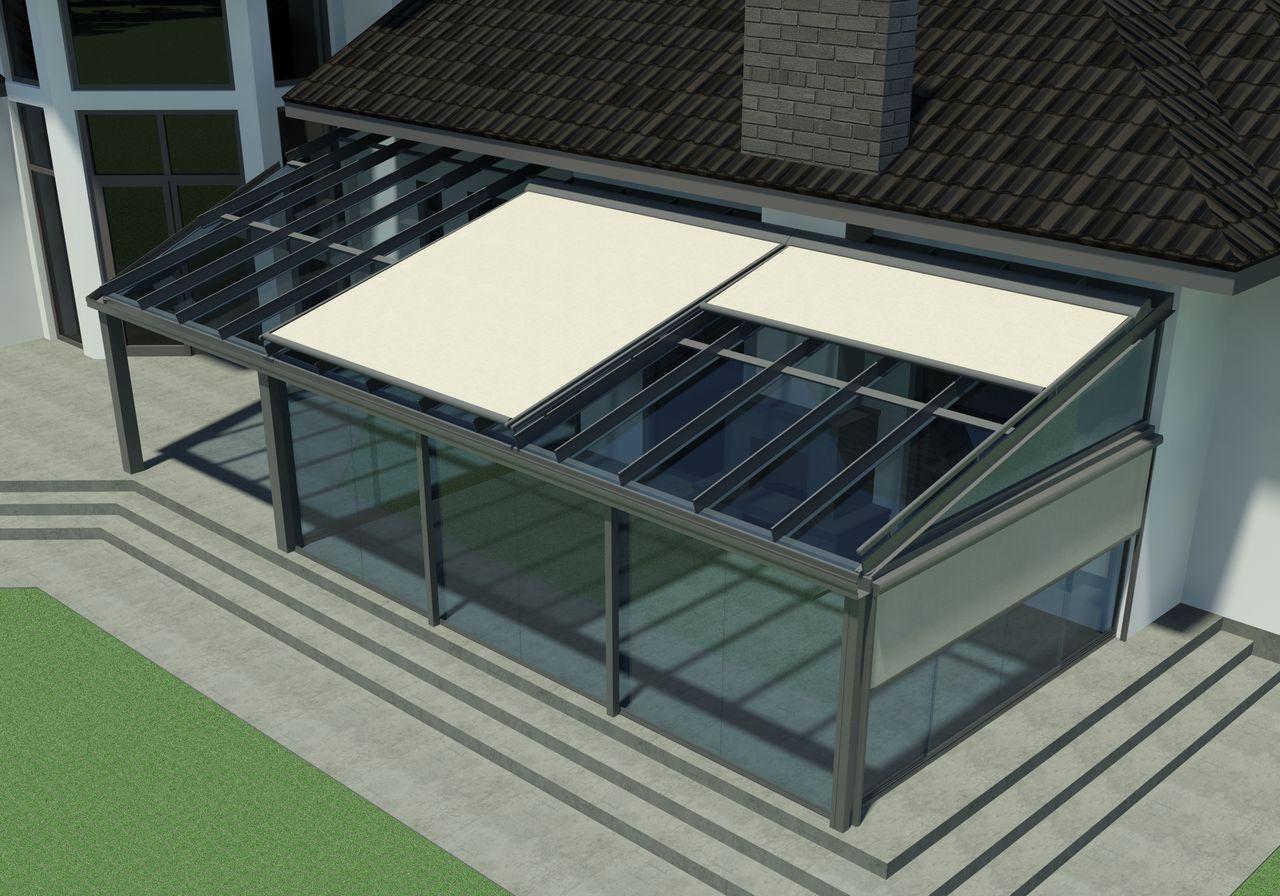 Крышная система TS Aluminium Veranda T