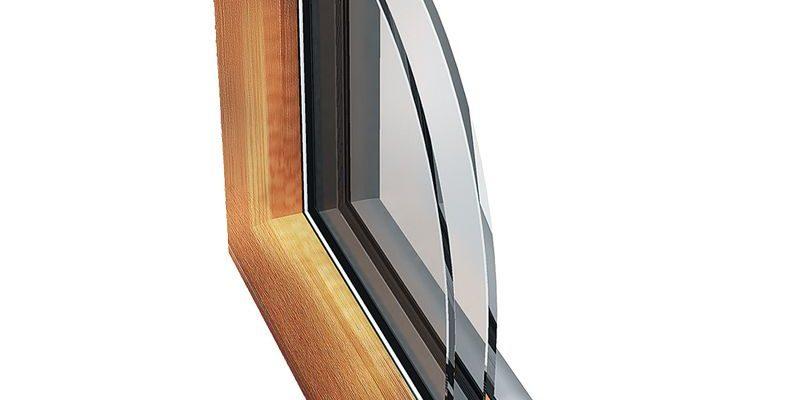 окна из алюминиевого профиля PW 93 WOOD