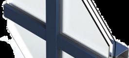 остекление фасадов Framex F50
