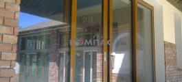 подъемно - сдвижные двери, раздвижные двери, раздвижная дверь на улицу