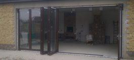 Двери гармошка купить киев, Двери типа гармошка, двери книжка
