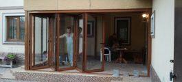 Купить двери типа гармошка В Киеве, двери гармошки купить