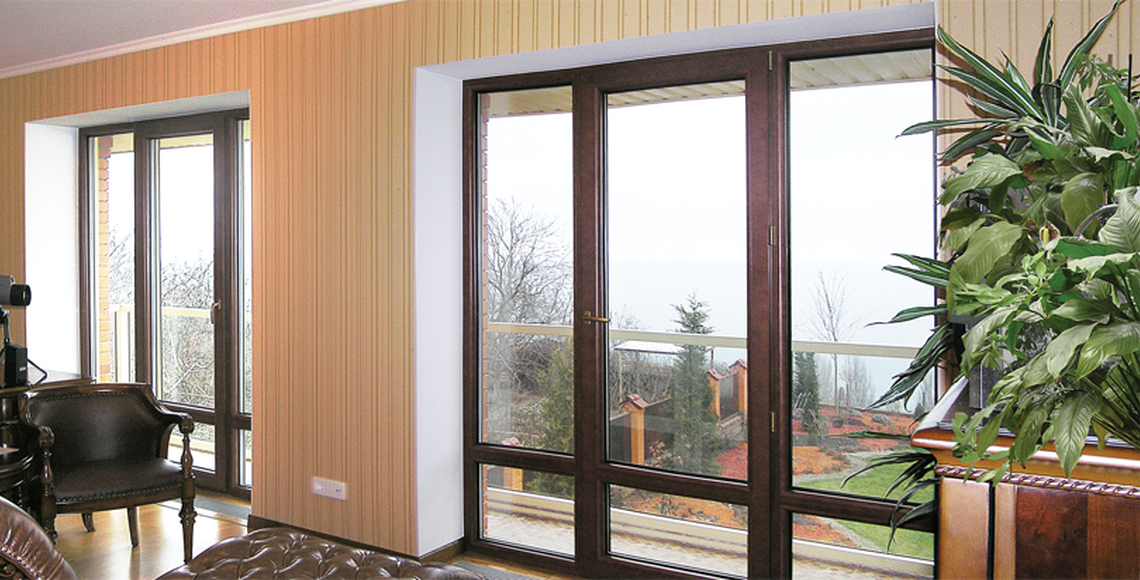 алюминиевые деревянные окна